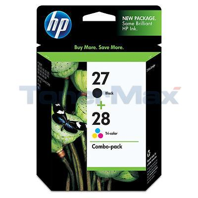 HP NO 27 28 INKJET CART BLACK/COLOR